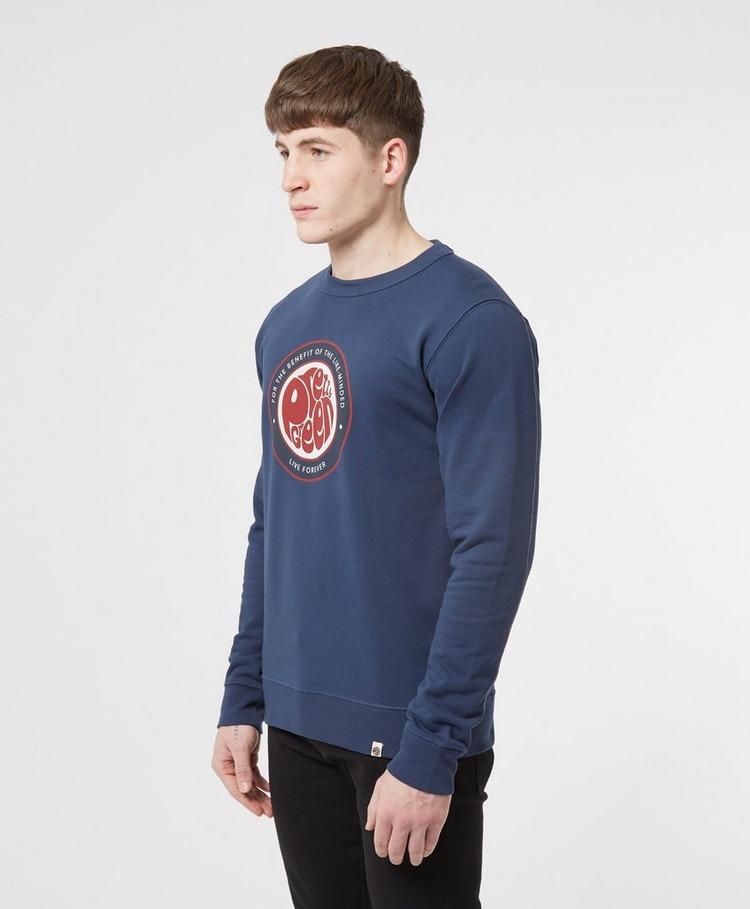 Pretty Green Likeminded Logo Sweatshirt