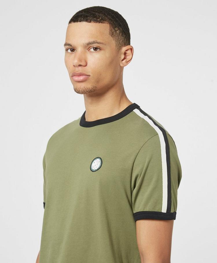 Pretty Green Tilby Tape Short Sleeve T-Shirt