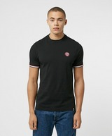 Pretty Green Likeminded Tipped Short Sleeve T-Shirt