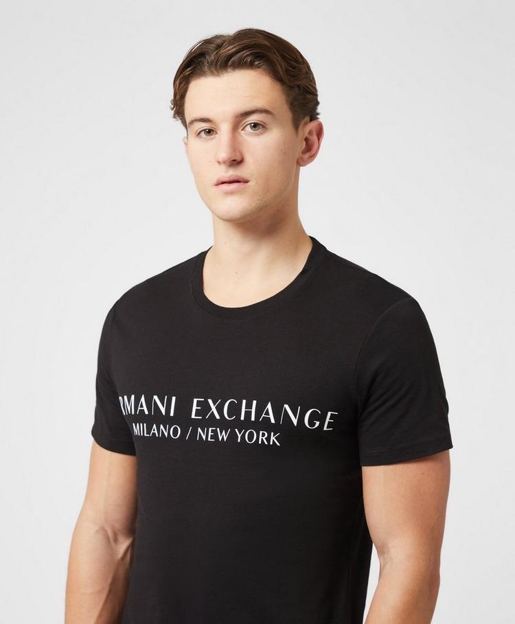 Armani Exchange Milano to New York Short Sleeve T-Shirt