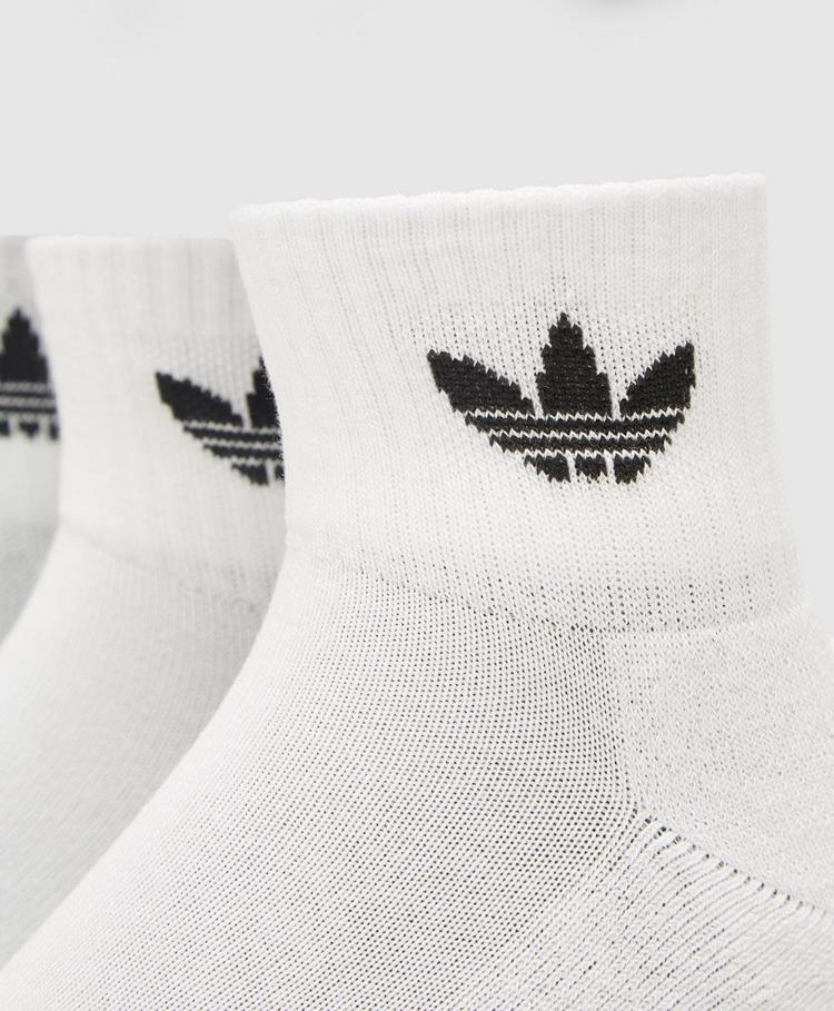 adidas Originals 3 Pack Mid Ankle Socks