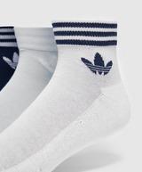 adidas Originals 3 Pack Trefoil Ankle Socks
