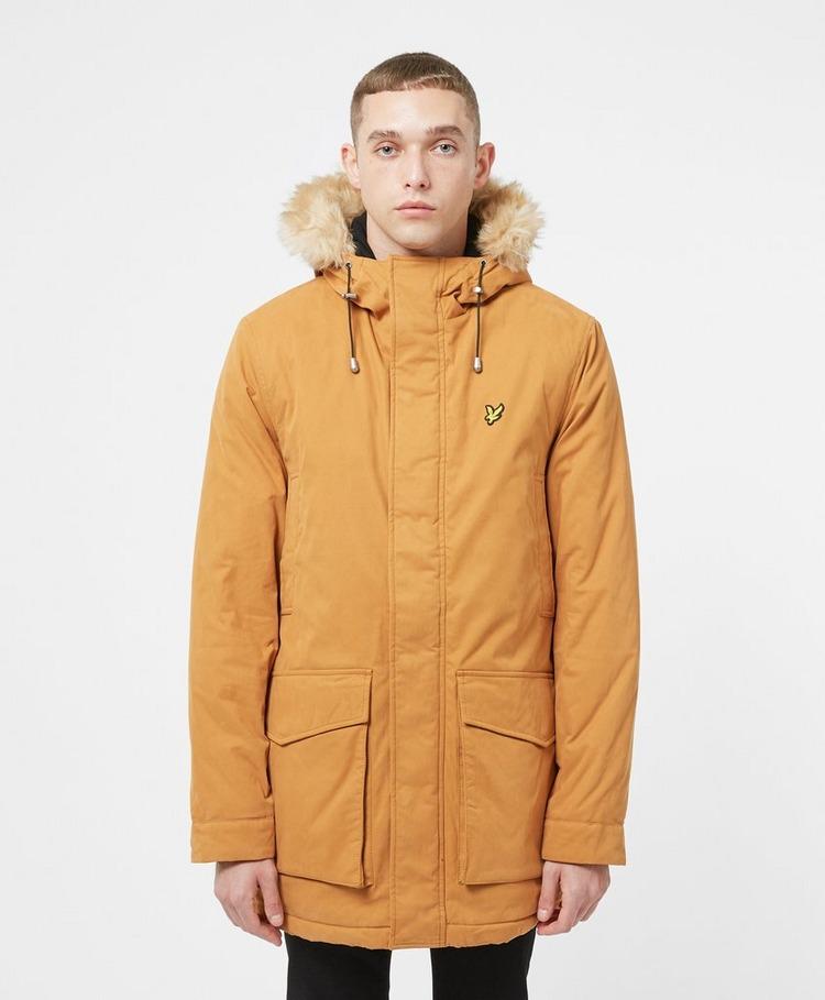 Lyle & Scott Winter Fleece Hooded Parka Jacket