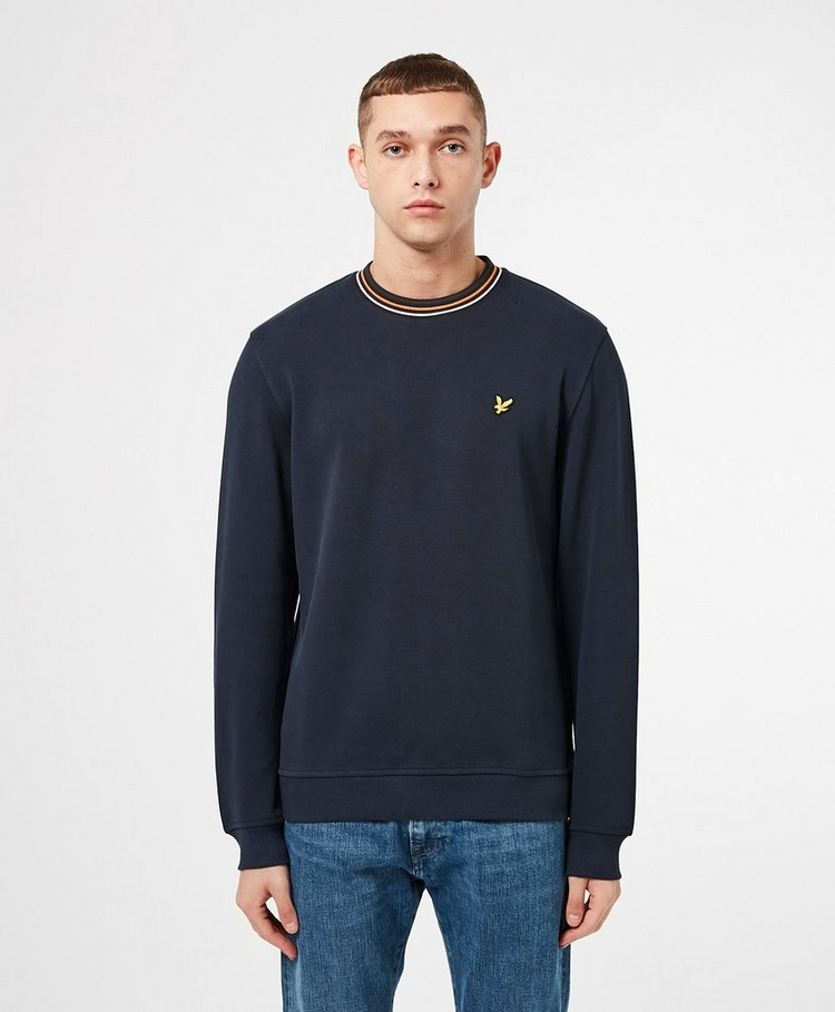 Lyle & Scott Tipped Pique Sweatshirt