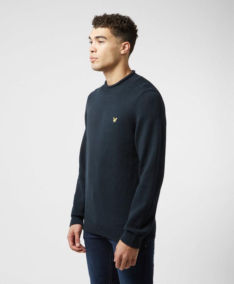 Lyle & Scott Funnel Neck Knitted Sweatshirt