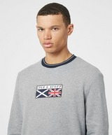 Lyle & Scott Embroidered Flag Sweatshirt