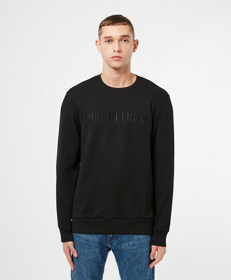 True Religion Embroidered Logo Sweatshirt