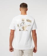 True Religion Gold Horseshoe Short Sleeve T-Shirt