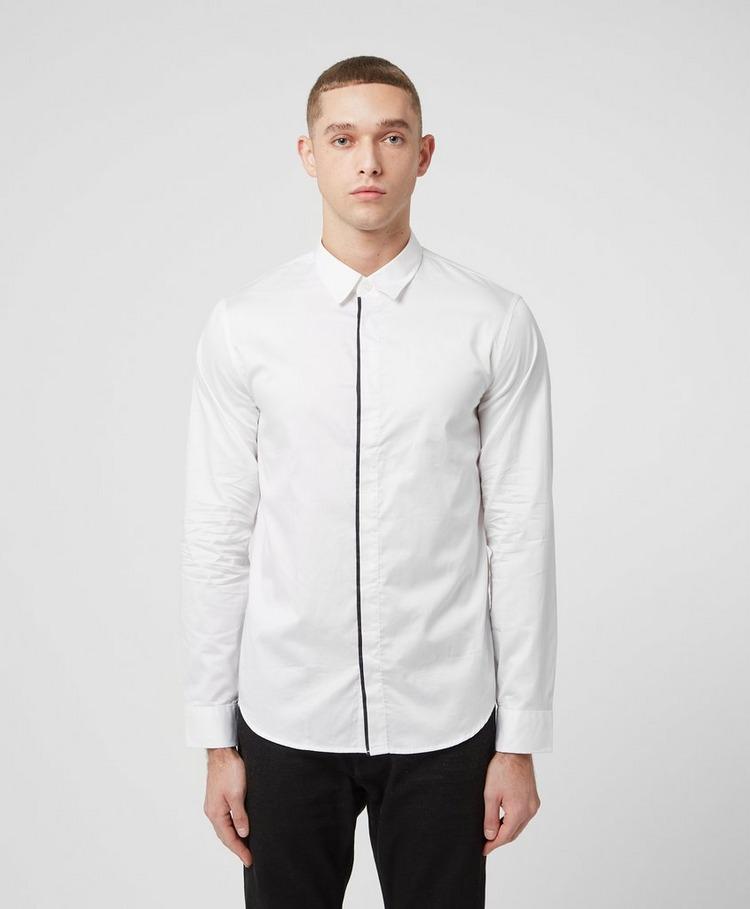 Armani Exchange Trim Placket Long Sleeve Shirt