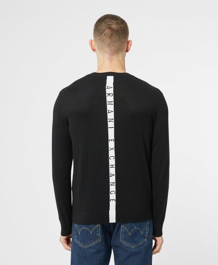 Armani Exchange Central Stripe Knitted Jumper