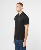 Armani Exchange Mercerised Zip Short Sleeve Polo Shirt