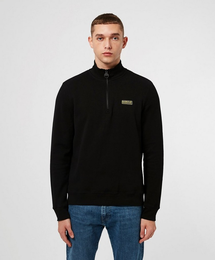 Barbour International Essential Half Track Top