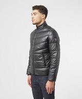 GUESS Eco Leather Baffle Jacket