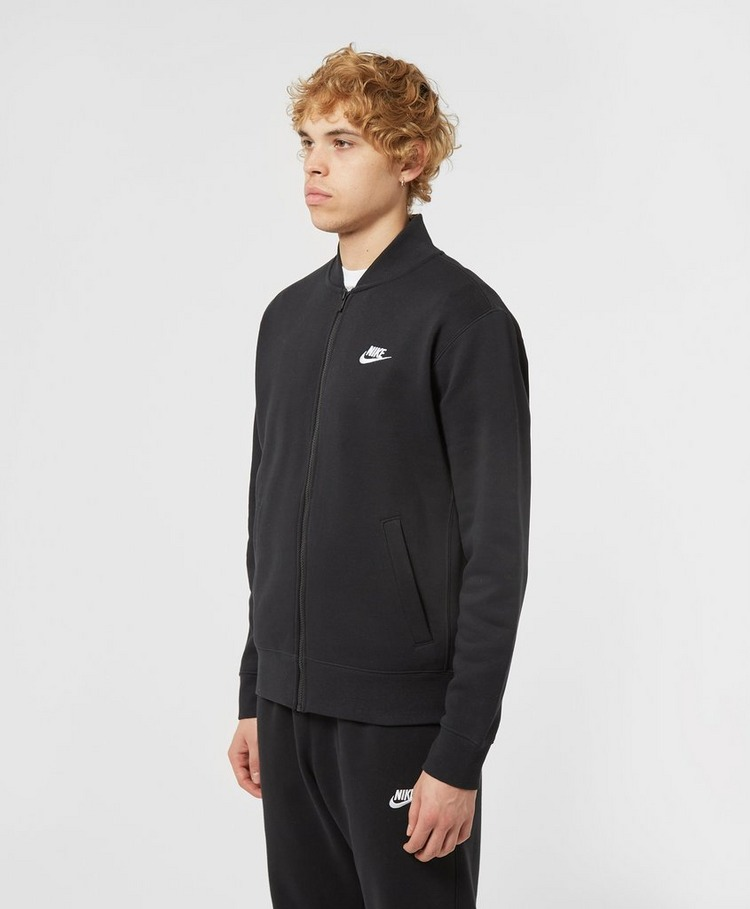Nike Club Fleece Bomber Track Top