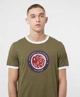 Pretty Green Likeminded Ringer Short Sleeve T-Shirt