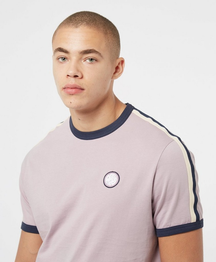 Pretty Green Tilby Tape Short Sleeve T-Shirt