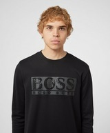 BOSS Salbo Gloss Print Sweatshirt