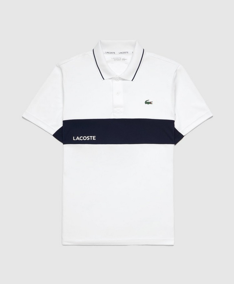 Lacoste Poly Panel Polo Shirt