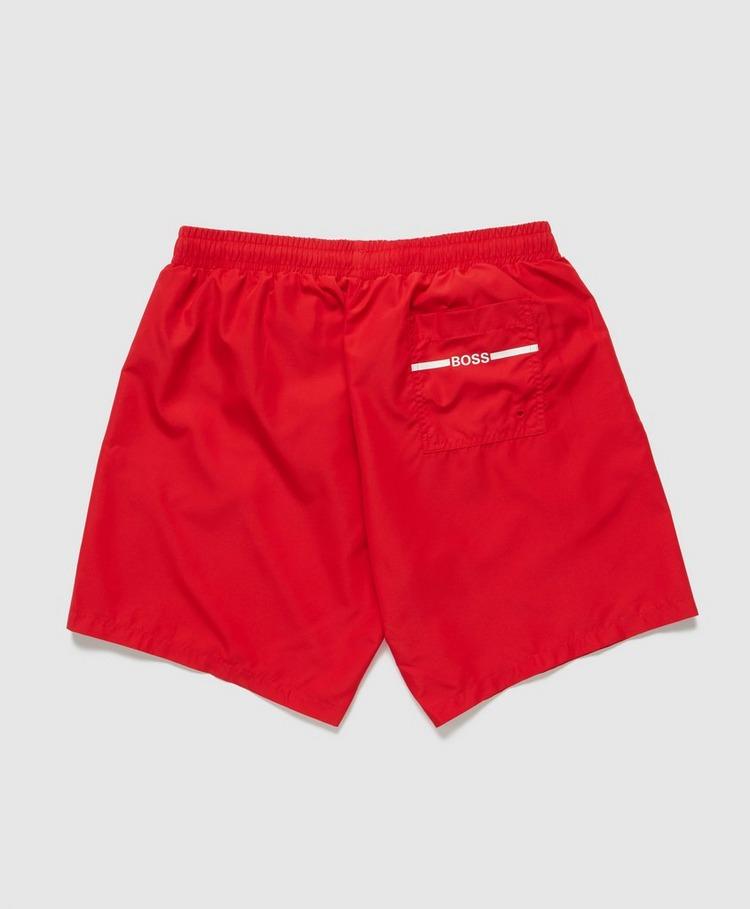BOSS Dolphin Sidestripe Swim Shorts
