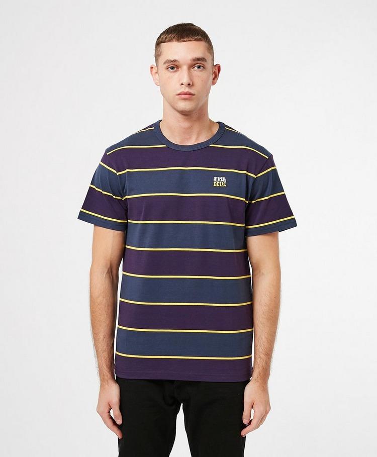 Hikerdelic Wide Stripe Short Sleeve T-Shirt