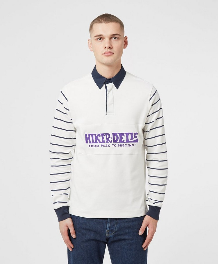 Hikerdelic Skyes Long Sleeve Rugby Shirt