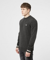 Fred Perry Tipped Crew Neck Knitted Sweatshirt