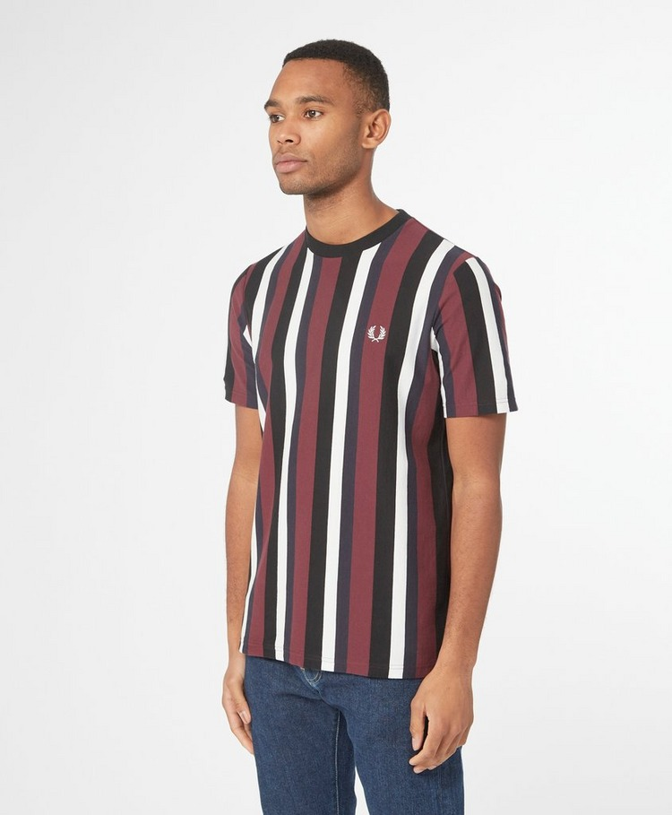 Fred Perry Vertical Stripe T-Shirt