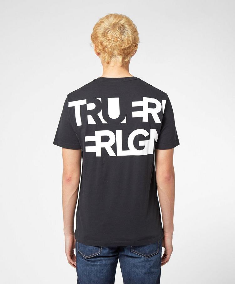 True Religion Back Letter Short Sleeve T-Shirt
