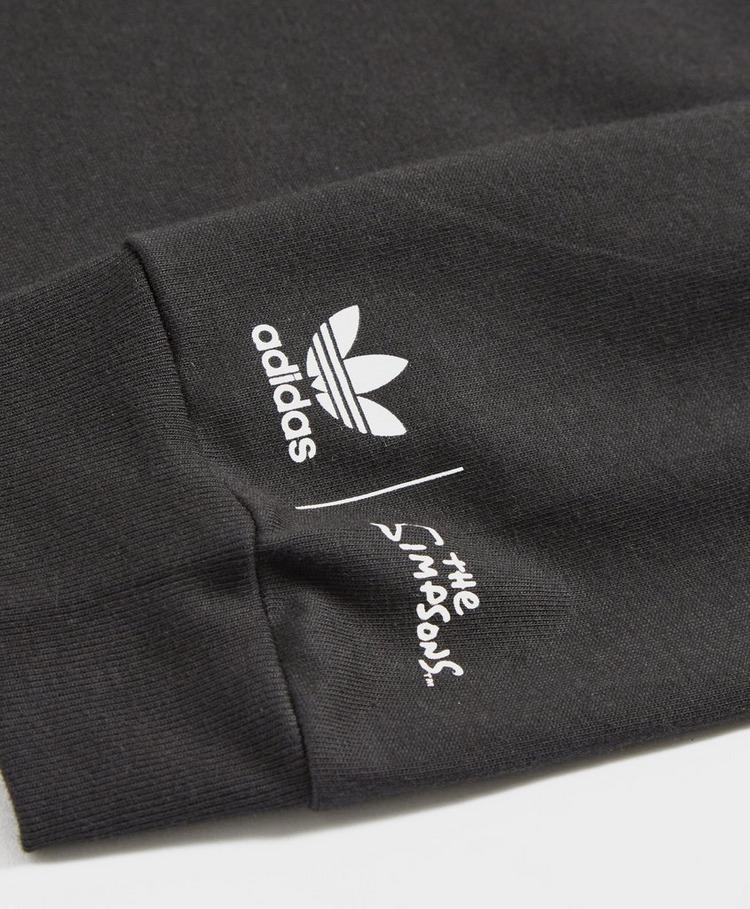 adidas Originals x The Simpsons Long Sleeve Krusty T-Shirt