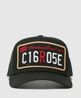 Christian Rose Plate Patch Cap