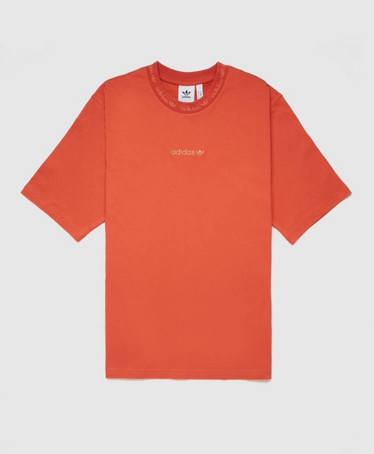 adidas Originals Ribbed Detail T-Shirt