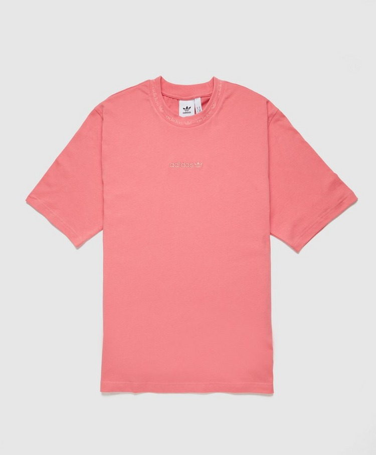adidas Originals Ribbed Detail T-Shirt