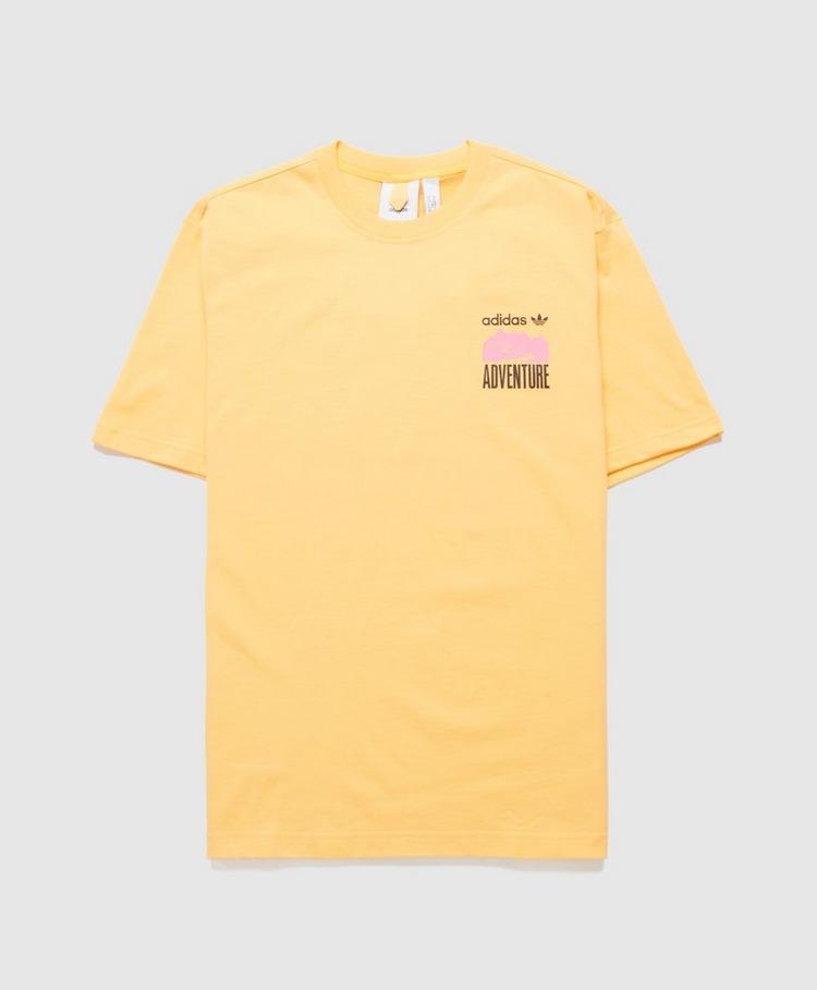adidas Originals Advance Back Print T-Shirt