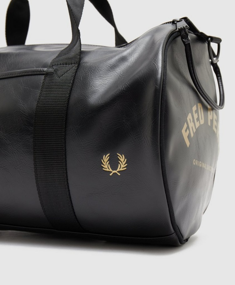 Fred Perry Tonal Barrel Bag