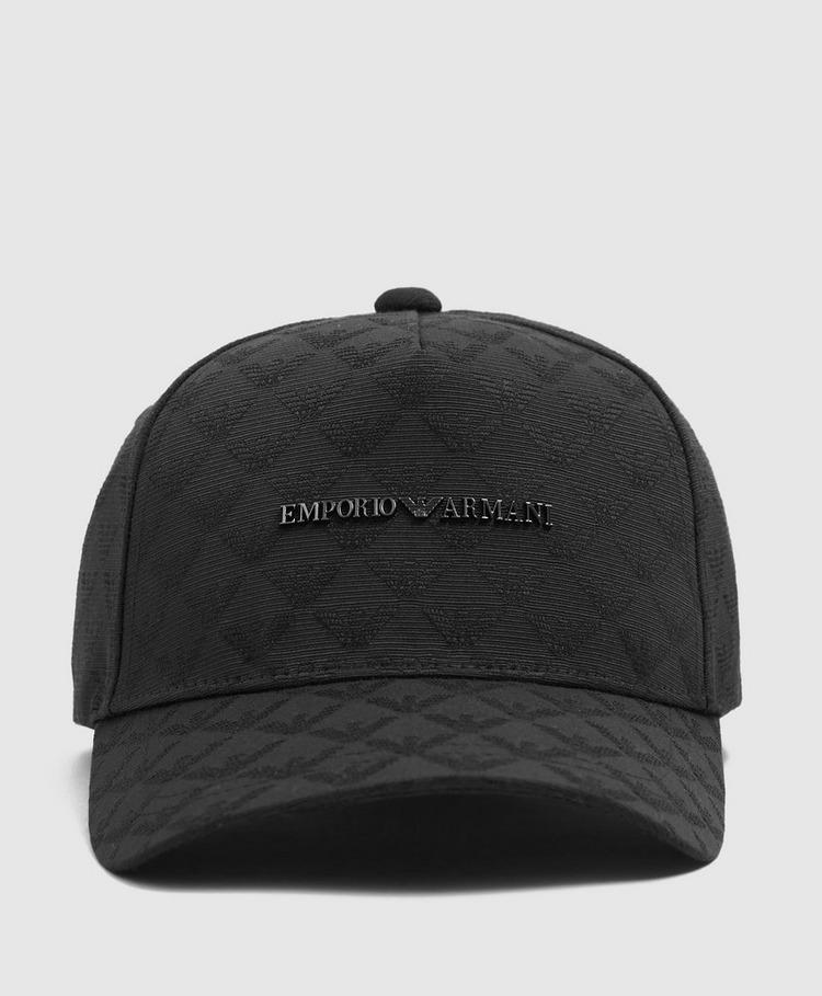 Emporio Armani Jacquard All Over Eagle Cap