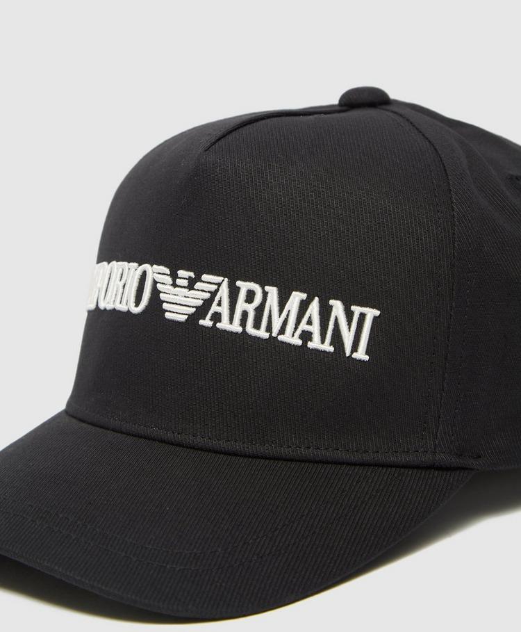 Emporio Armani Linear Logo Cap