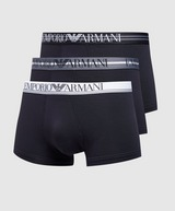 Emporio Armani Loungewear 3-Pack Mix Waistband Boxer Shorts