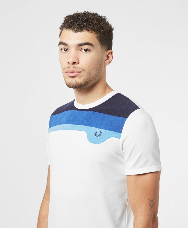 Fred Perry Toweling Detail T-Shirt