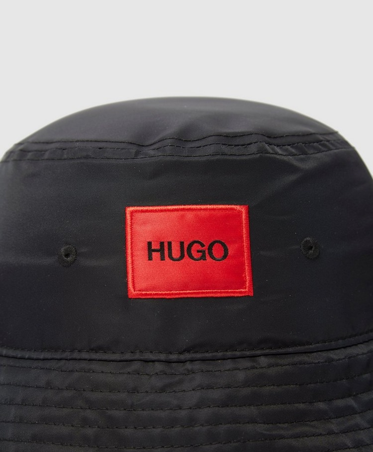 HUGO Patch Logo Bucket Hat