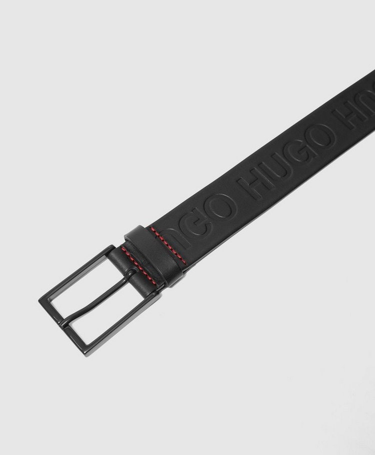 HUGO Giaci All Over Logo Belt