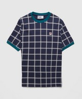 Fila Slate Grid T-Shirt