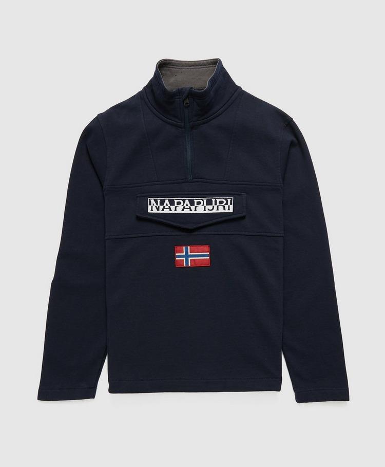 Napapijri Flag Half Zip Sweatshirt