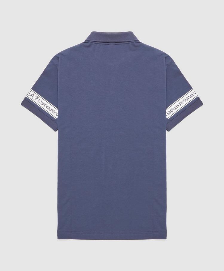 Emporio Armani EA7 Tape Cuff Polo Shirt