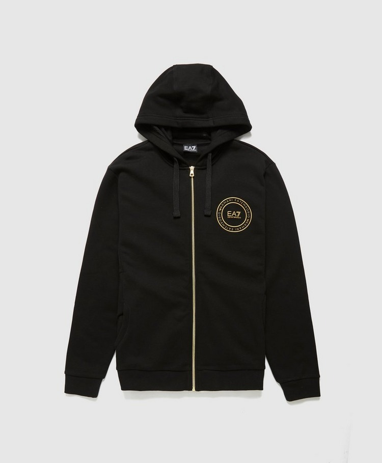 Emporio Armani EA7 Gold Medallion Zip Hoodie - Exclusive