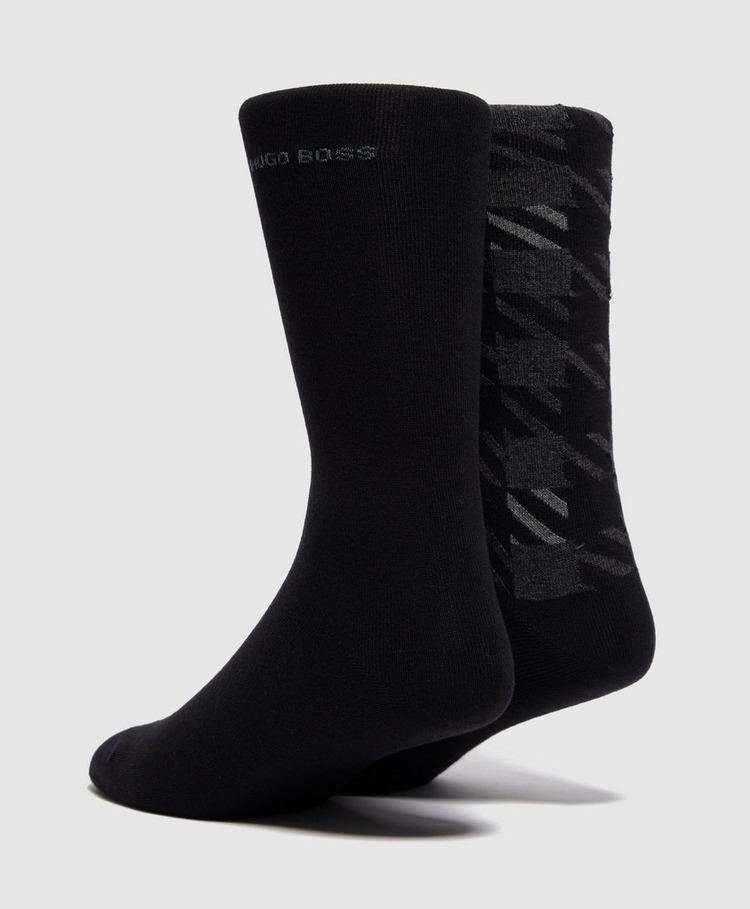 HUGO 2-Pack Of Maxi Vichy Socks