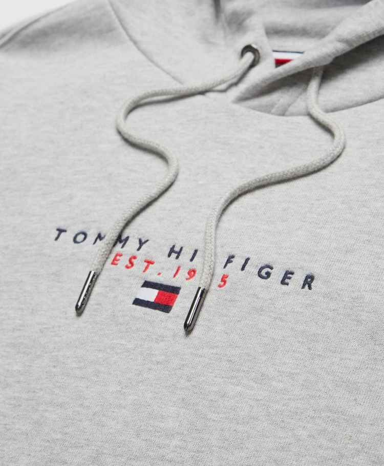 Tommy Hilfiger Essential Central Embroidered Logo Hoodie
