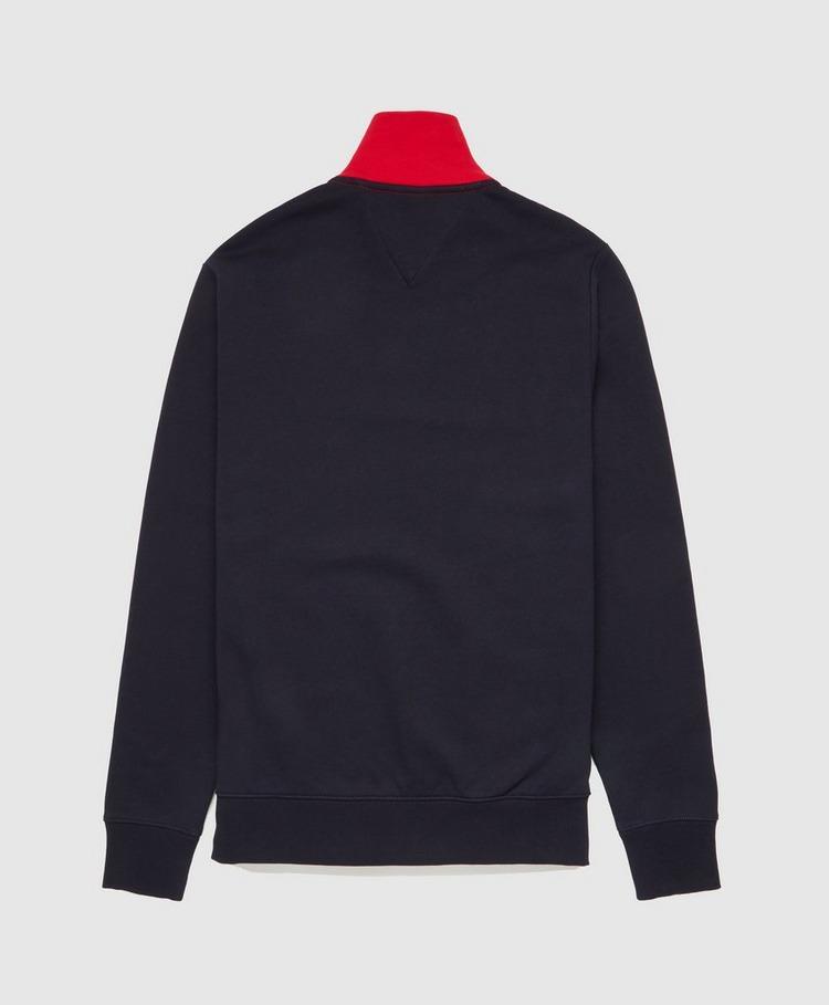 Tommy Hilfiger Arch Logo Colourblock Half Zip Sweatshirt
