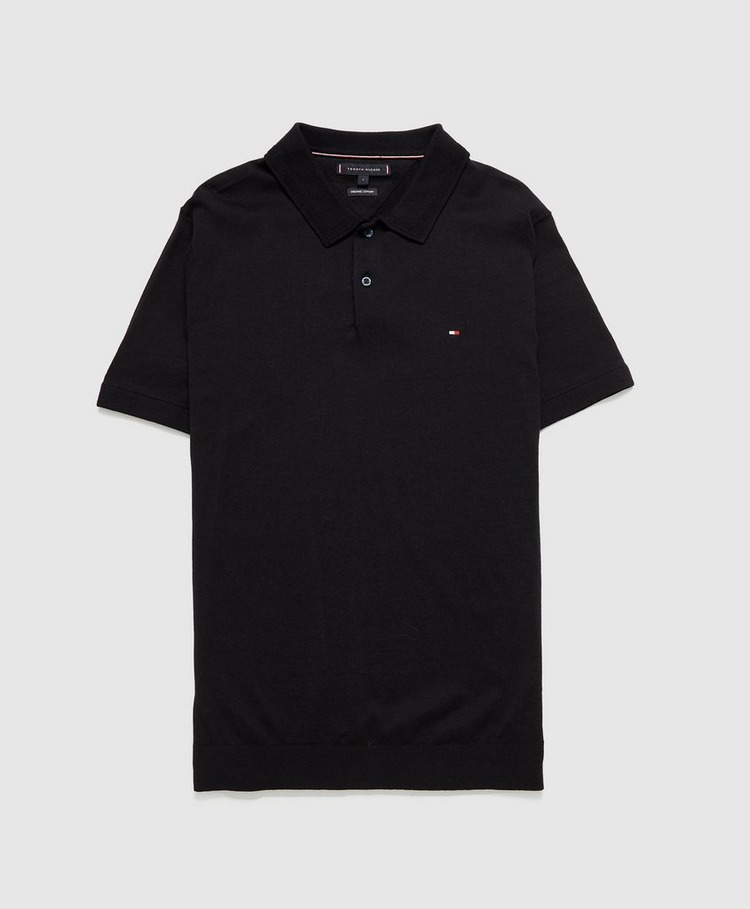 Tommy Hilfiger Knitted Polo Shirt