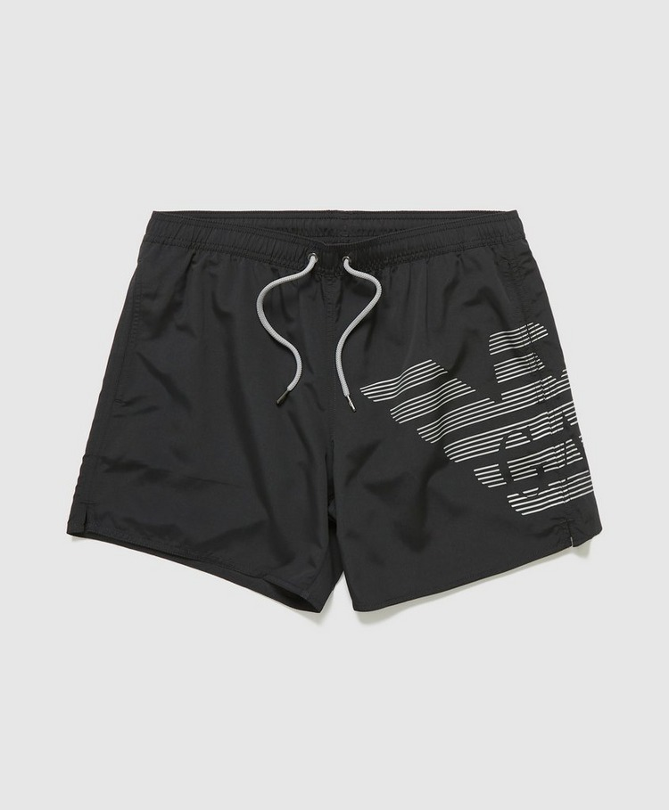 Emporio Armani Loungewear Bold Eagle Swim Shorts