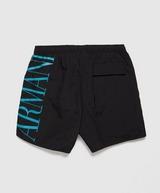Emporio Armani Large Logo Swim Shorts